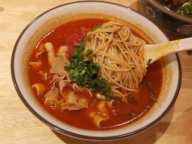 Nagano Pork Belly with Mala Tomato Broth Noodle