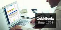 How to Fix QuickBooks Error 1723