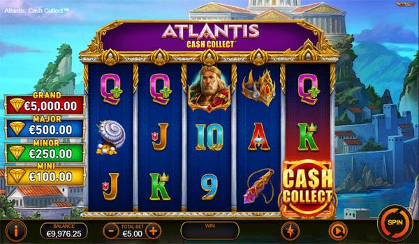 Main Gratis Slot Indonesia - Atlantis Cash Collect Playtech