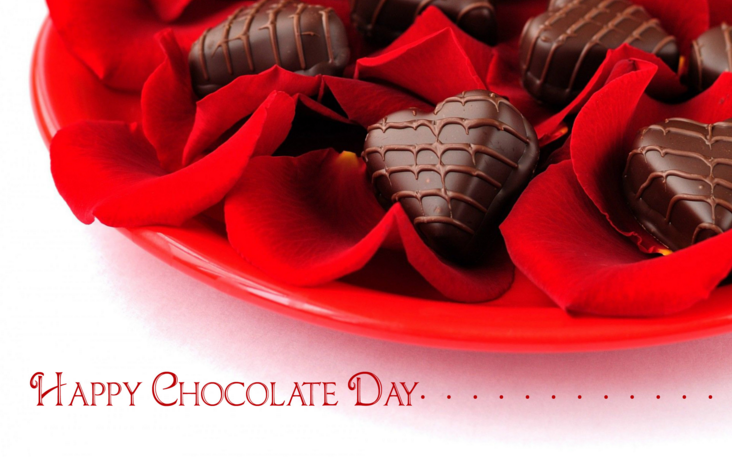Happy Chocolate Day SMS in Hindi