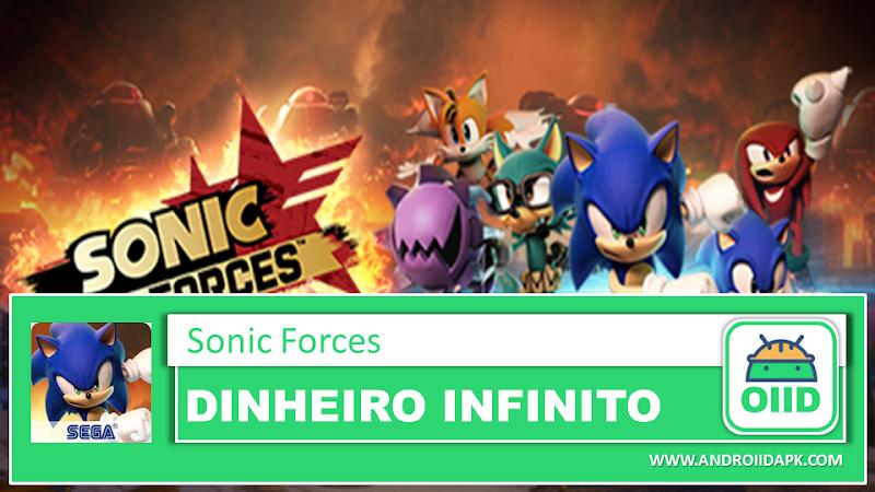 Sonic Forces – APK MOD HACK – Dinheiro Infinito