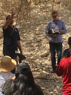 En Gedi Pastor Jack and Amir teaching at En-Gedi