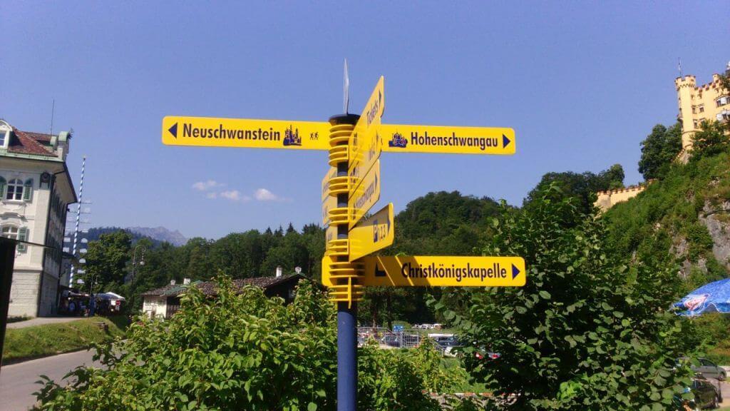 Castelo de Hohenschwangau e Castelo de Neuschwanstein