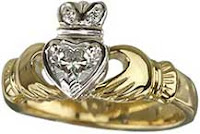 Irish Symbols - Claddagh Rings