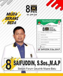 Saifuddin DPRK Aceh Utara