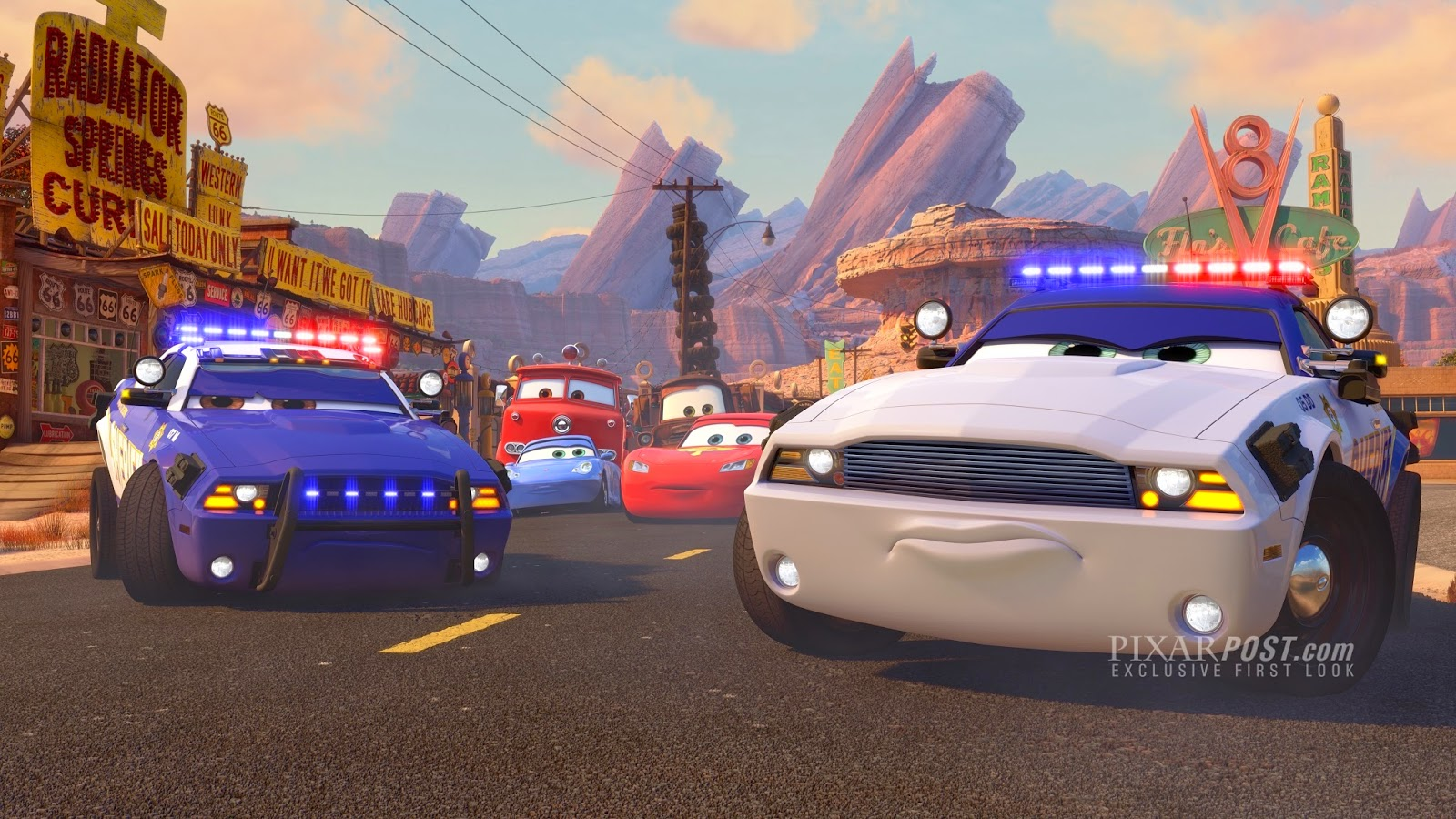 Cars Toons Radiator Springs