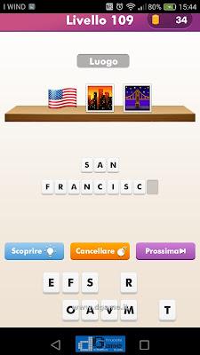 Emoji Quiz soluzione livello 109
