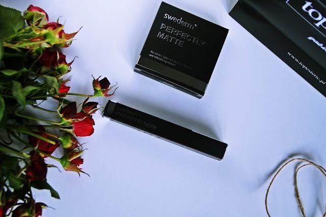 Kosmetyki SWEDERM, Tusz od Swederm - Magnetic Noir Mascara Puder matujący - Perfectly Matte