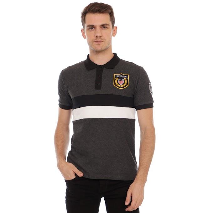 Polo Shirt Exclusive Series Brooken Dark Gray