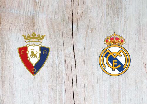 Osasuna vs Real Madrid -Highlights 09 January 2021