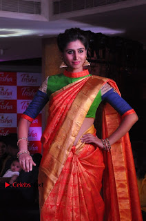 South Indian Celebrities Pos at Love For Handloom Collection Fashion Show  0058.jpg