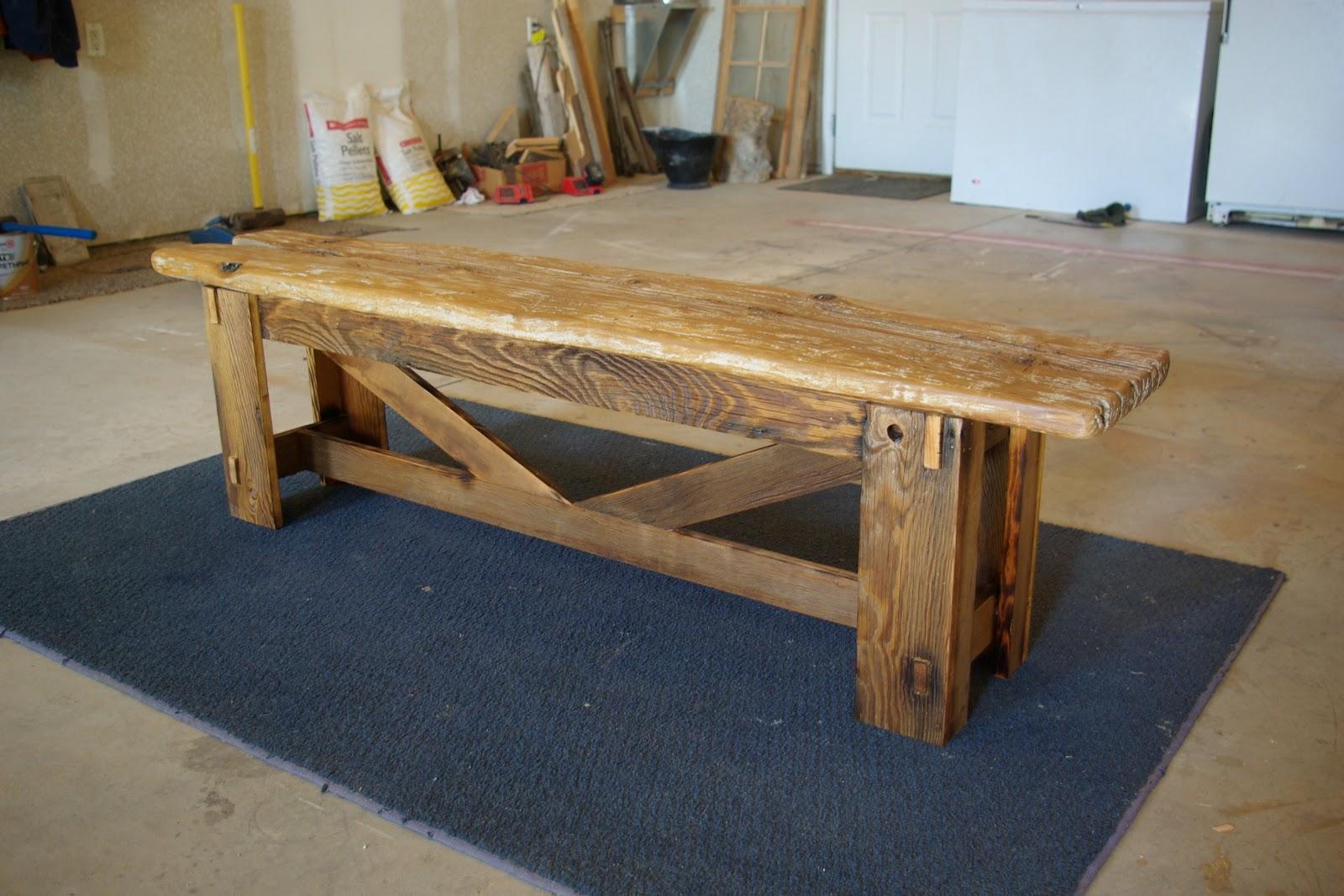 Reclaimed Rustics Rustic Bench