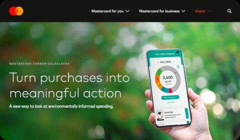 Mastercard Carbon Calculator