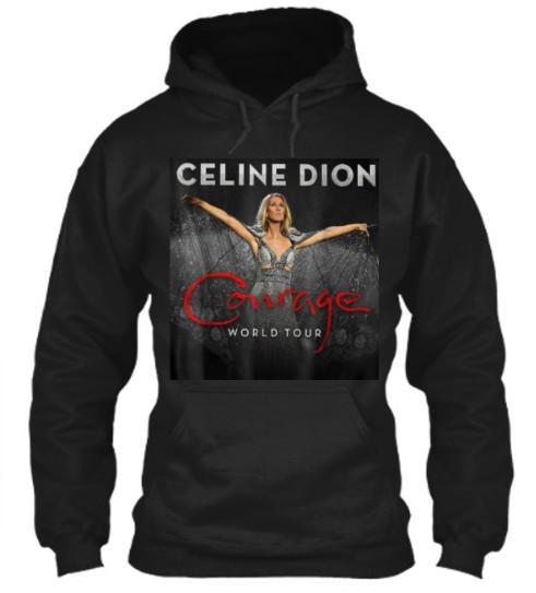 Celine Dion Courage World Tour Hoodie,Celine Dion Courage World Tour sweatshirt,Celine Dion Courage World Tour Shirt