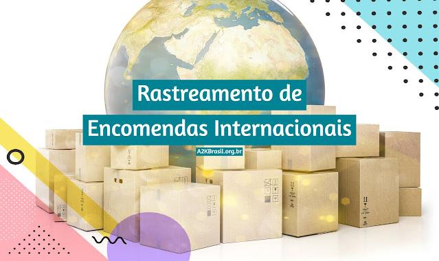 Rastreamento de encomendas internacionais