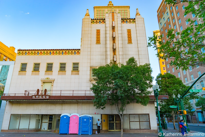 Kress Building El Paso Things to Do Texas Weekend Getaway