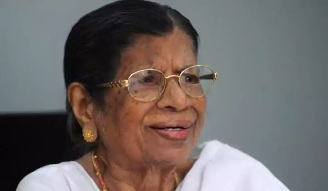 Revolutionary heroine of a century; K. R. Gouri Amma passed away