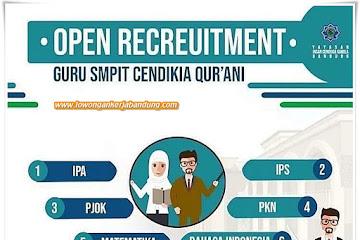 Lowongan Kerja Guru SMPIT Cendikia Qur'ani Bandung