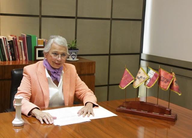 Este es un gobierno transformador comprometido con los derechos de la ciudadanía: Olga Sánchez Cordero