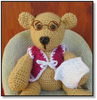 gehäkelter Teddy Bär