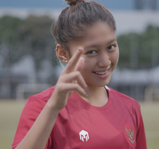 footballer- Zahra- Muzdalifah- first- Indonesia- female- player- to -move- to- Europe