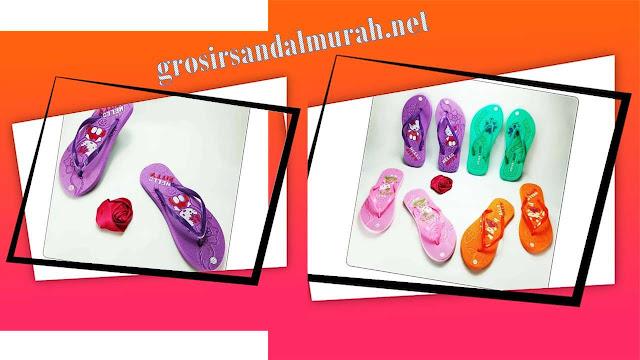 Grosirsandalmurah.net - Sandal Wanita - Hellokity Press Wanita