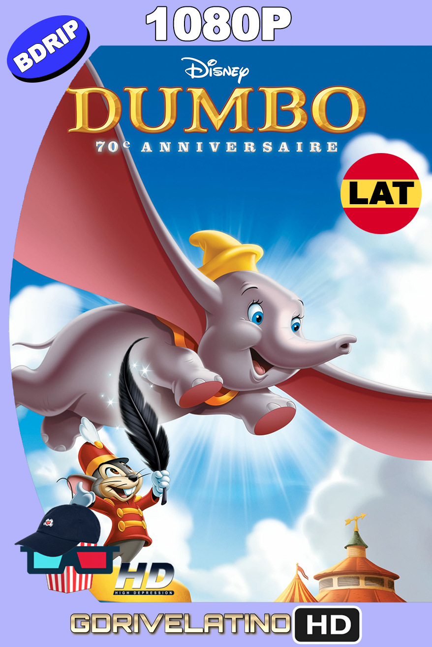 Dumbo (1941) BDRip 1080p Latino-Ingles MKV