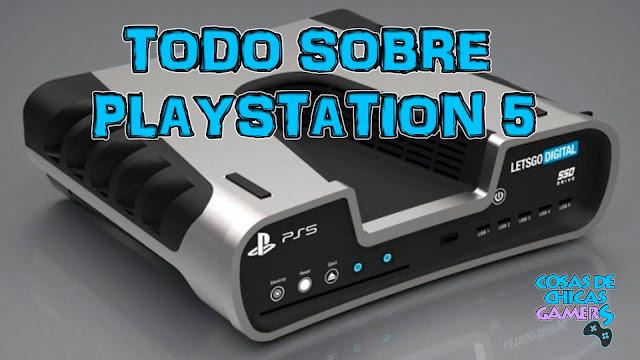 Todos los detalles sobre Playstation 5