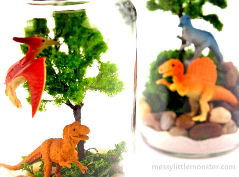 Dinosaur terrarium