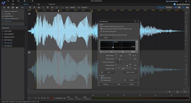 Screenshot CyberLink AudioDirector Ultra 10.0.2315.0 Full Version