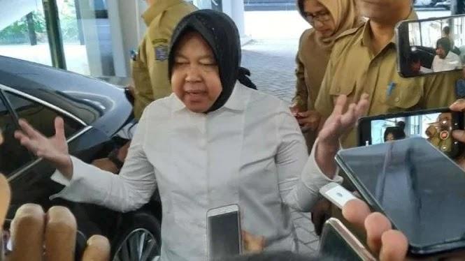 Risma Ngeluh, 50 Persen Pasien Corona di RS Surabaya bukan Warganya