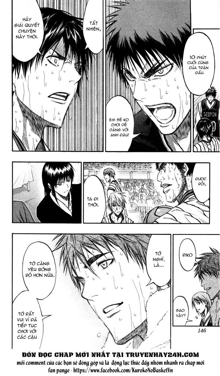 Kuroko No Basket chap 160 trang 17