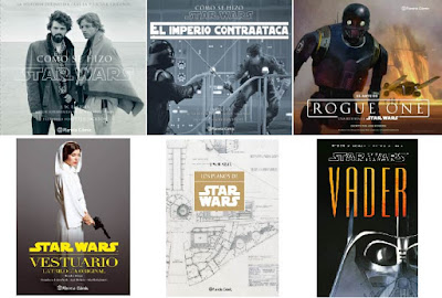 Book Haul Reyes Star Wars libros