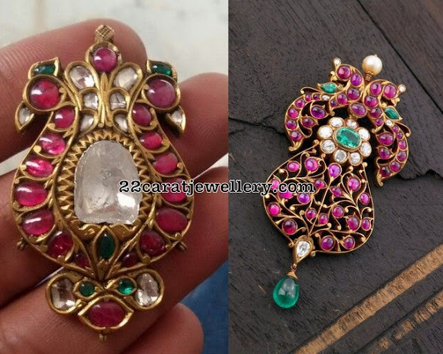 Burmese Ruby Pendant Sets