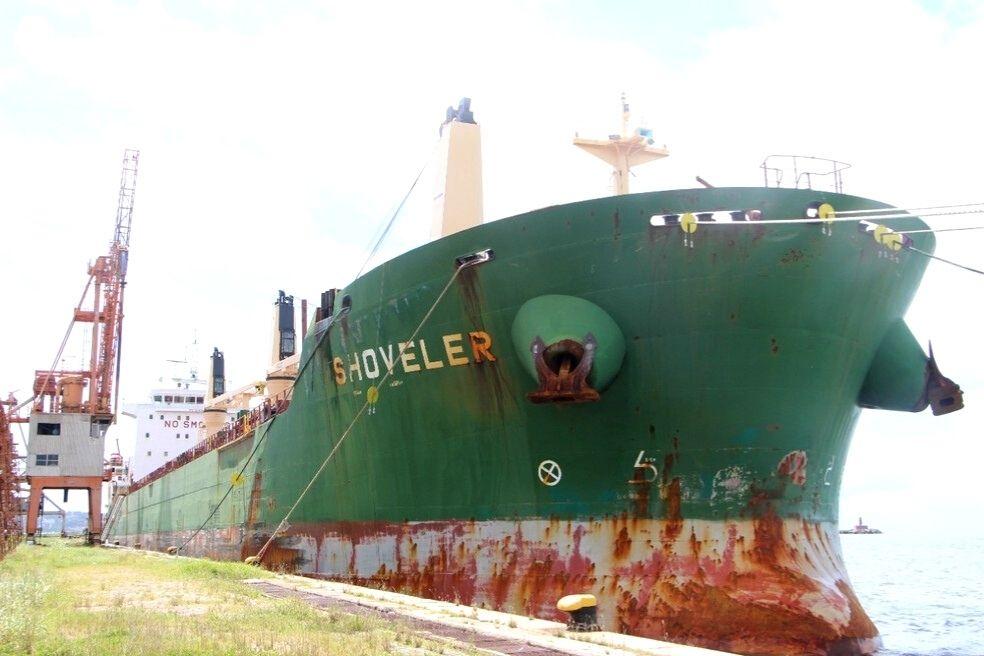 Navio do Chipre é isolado no Porto do Recife com 9 casos de covid-19