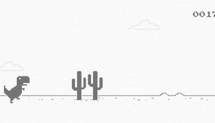 Este tutorial te enseña reemplazar al T-Rex de Google Chrome por Mario o Sonic