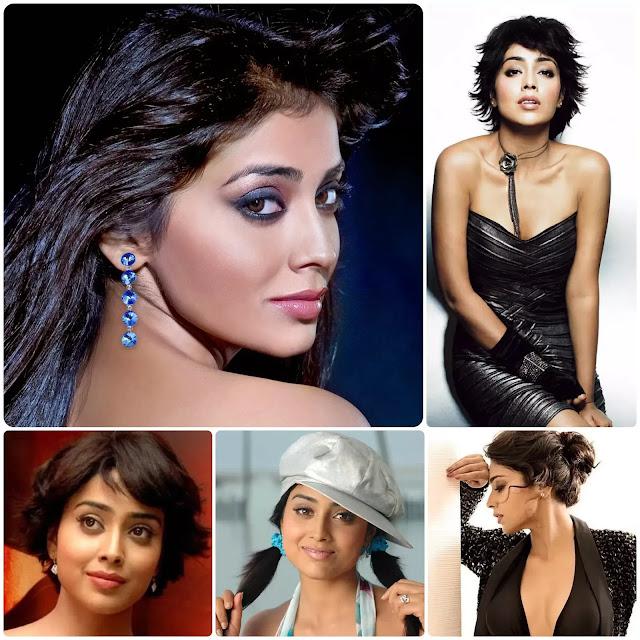Shriya Saran Hairstyles
