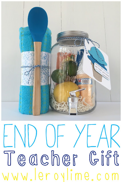 End of Year Teacher Gift - Summer Themed - LeroyLime