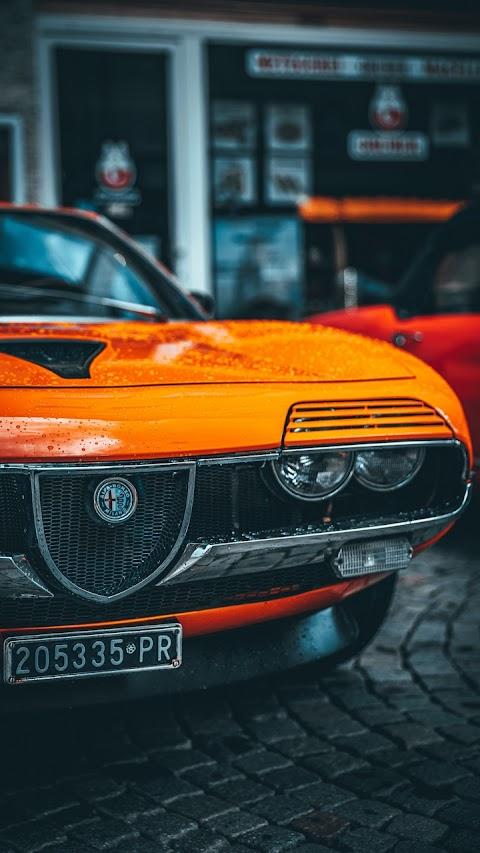 Alfa Romeo Orange