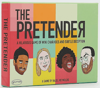 The Pretender: The Hilarious Pocketsize Party Game of Mini-Charades and Subtle Deception. Bluff your way to victory in this addictive game from the makers of Randomise and Soundiculous.