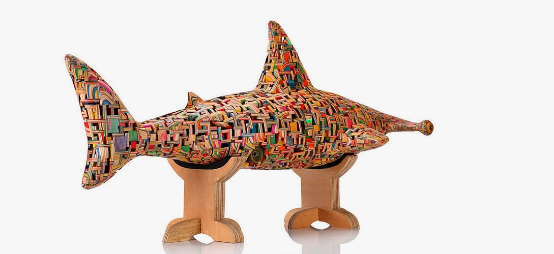 20-Hammer-Head-Shark-2-Haroshi-The-Art-of-Skateboarding-Made-into-Sculpture-www-designstack-co