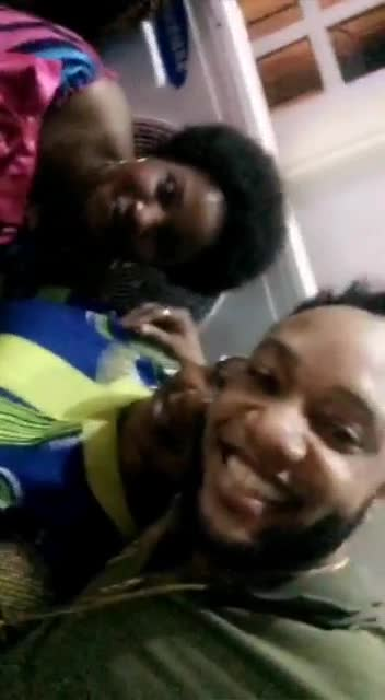 Kcee Dancing And Having Fun With His Sweet Mother & Sisters(pics,video)2