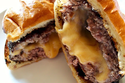 The Juicy Lucy Burger