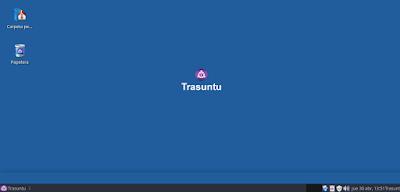 Escritorio de Trasuntu-Arco-Xfce