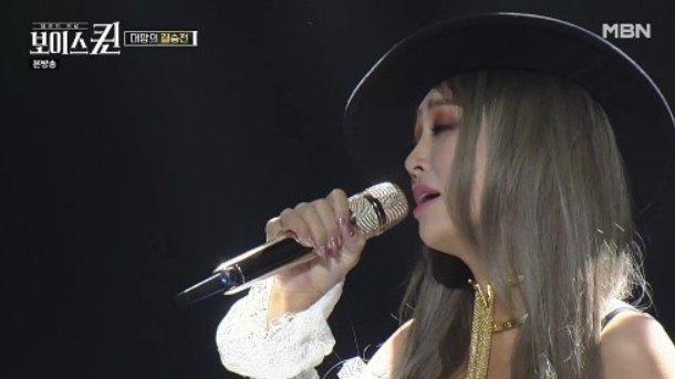 Hyorin, zorbalık skandalından sonra 'Voice Queen' şovuna çıktı