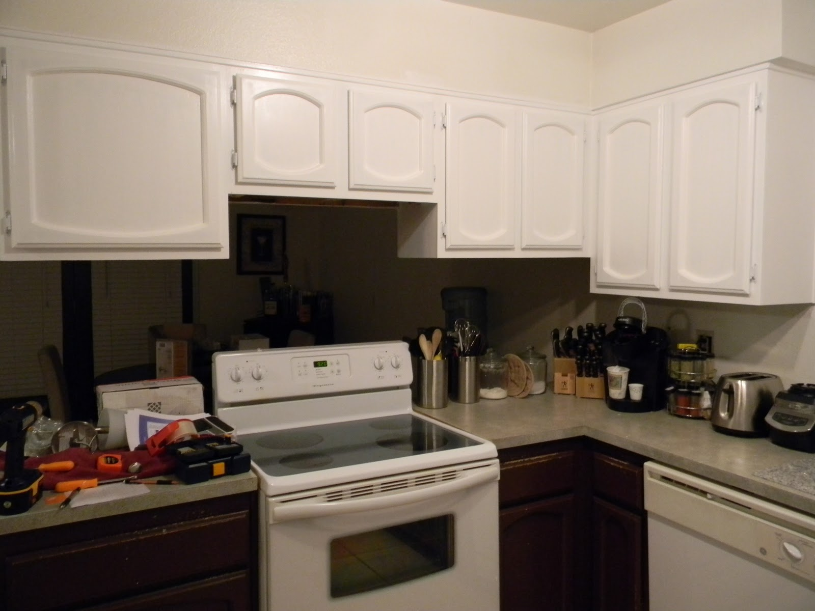 Lustering Lovelies Kitchen Makeover Part 1 Upper Cabinets
