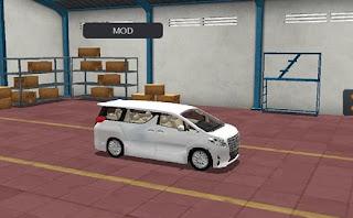 Mod Toyota Alphard