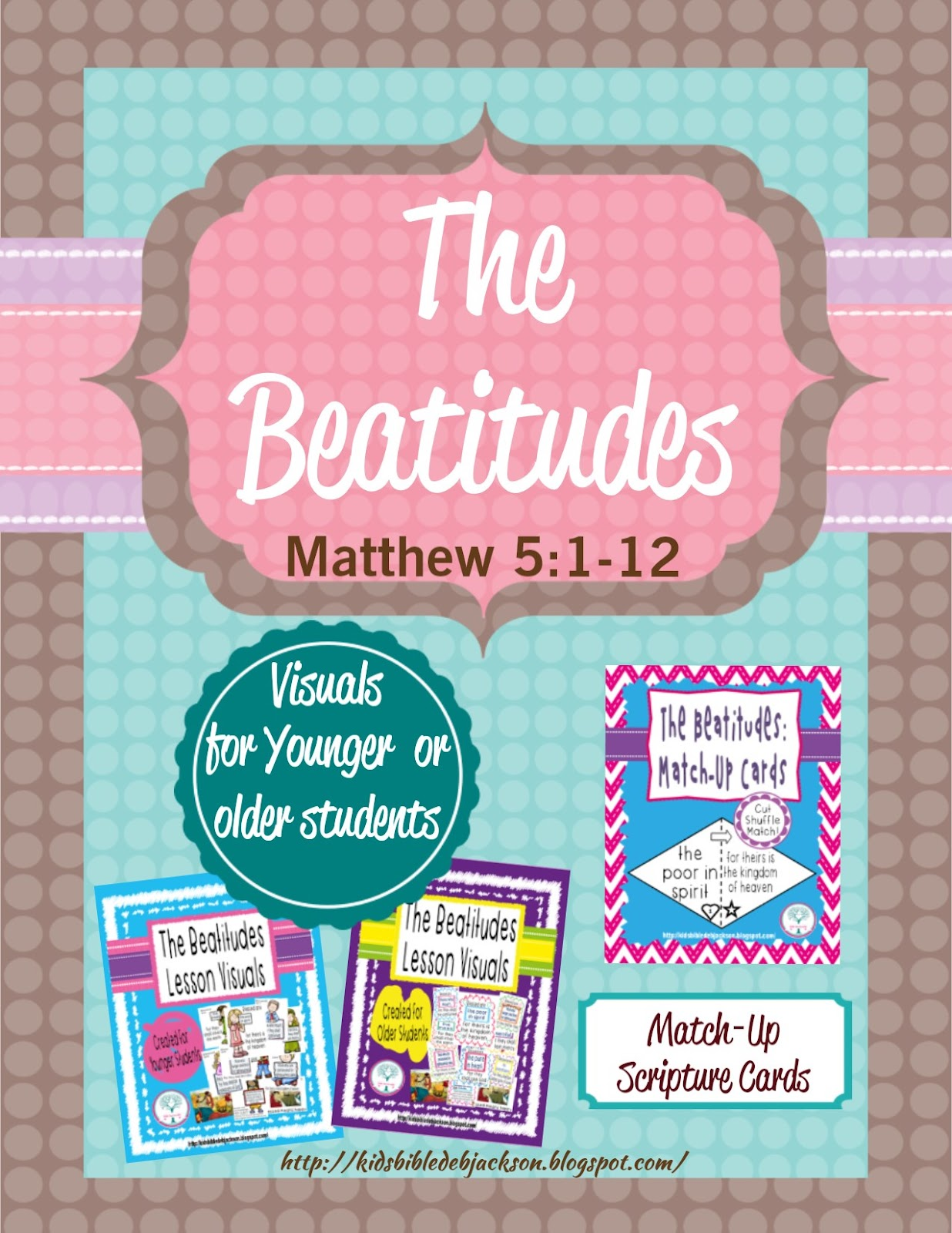 Bible Fun For Kids The Beatitudes Interactive Bulletin