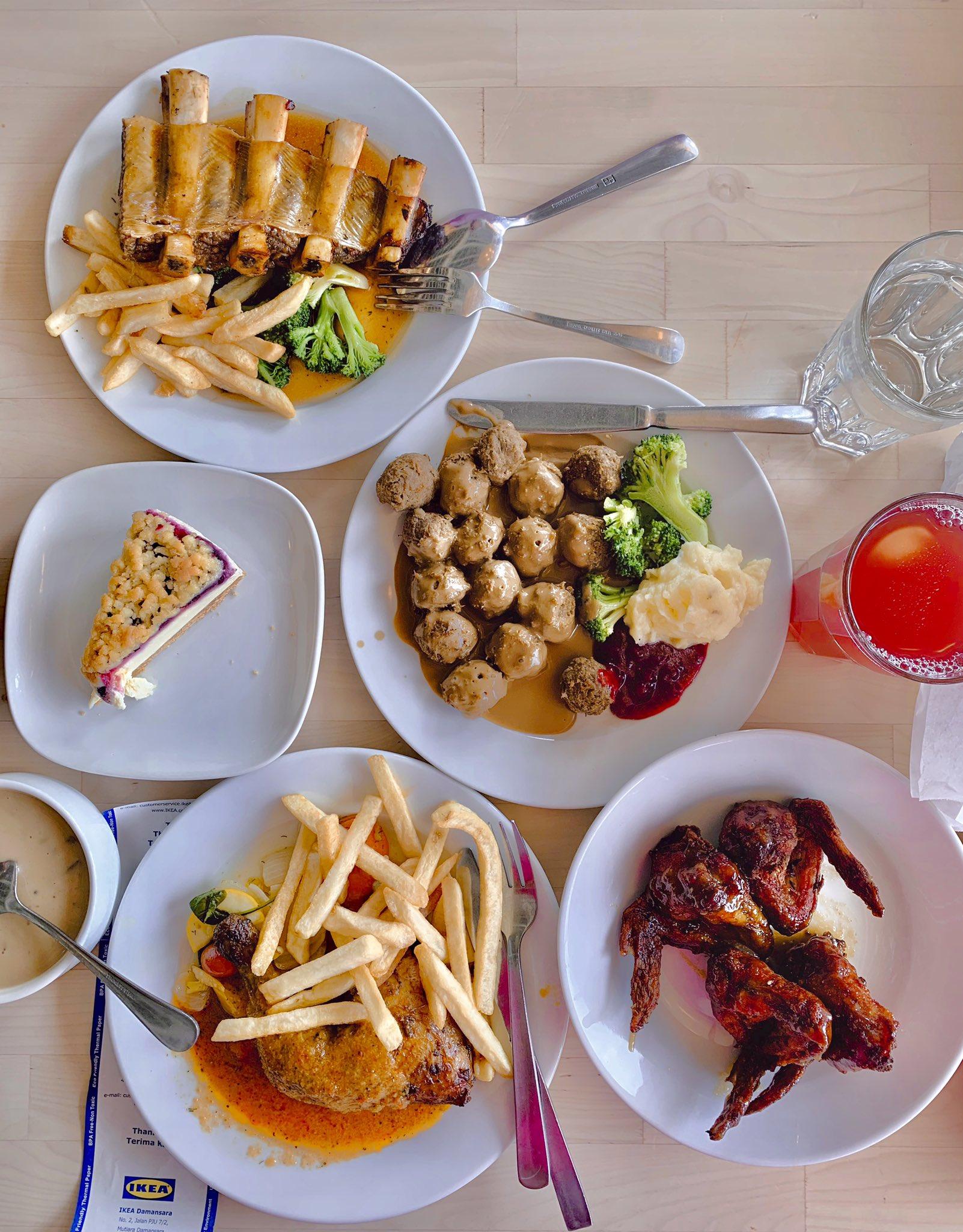 panduan tips ikea makanan sedap