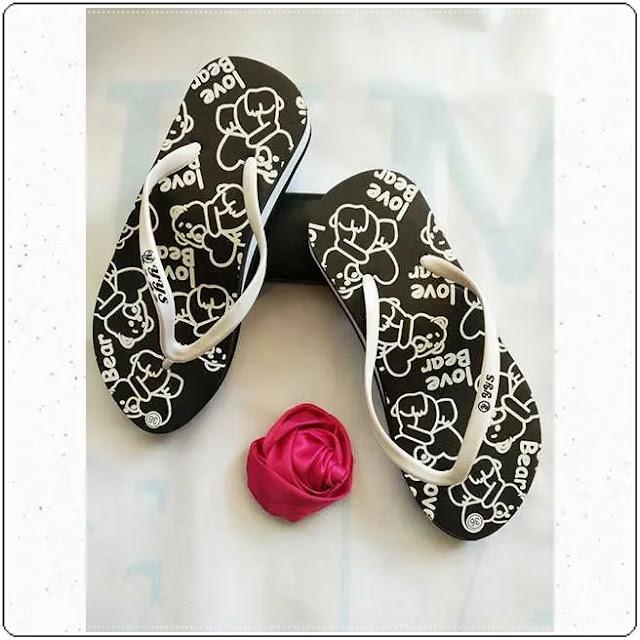 Grosirsandalmurah.net- Sandal Wanita- Cewe Tebal Love Bear